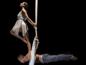 atrakcje na imprezę firmową event akrobatyka i akrobacje Aerial acroart agencja muzyczna
